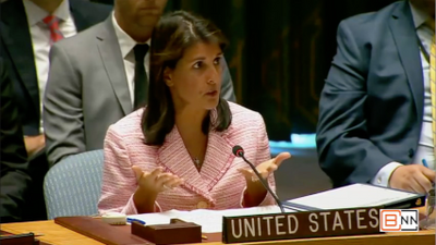 Nikki Haley At The United Nations Speaking Out On Yemen