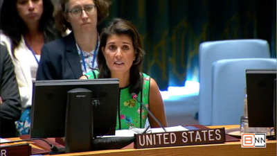 Nikki Haley is Dealing With The Situation In The Democratic Republic of the Congo