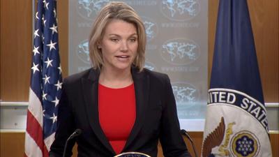State Department Spokeswoman Heather Nauert On The 20th Anniversary Of Terrorist Attack