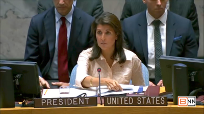 Nikki Haley Discusses Sexual Exploitation and Protecting Women In Somalia