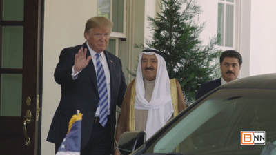 President Trump Welcomes Emir Of Kuwait To The White House