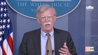 "Bolton: ""European Companies Are Leaving Iran In Droves To Avoid U.S. Sanctions"""