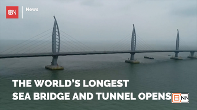 China Builds A Bridge To Hong Kong
