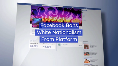 White Nationalists Wont Be Allowed On Facebook