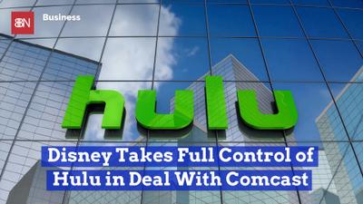 Disney Takes Full Control Of Hulu