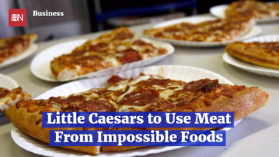 Little Caesars Teams Up With Meat Substitute Company