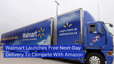 Walmart Turns Up The Heat On Delivery