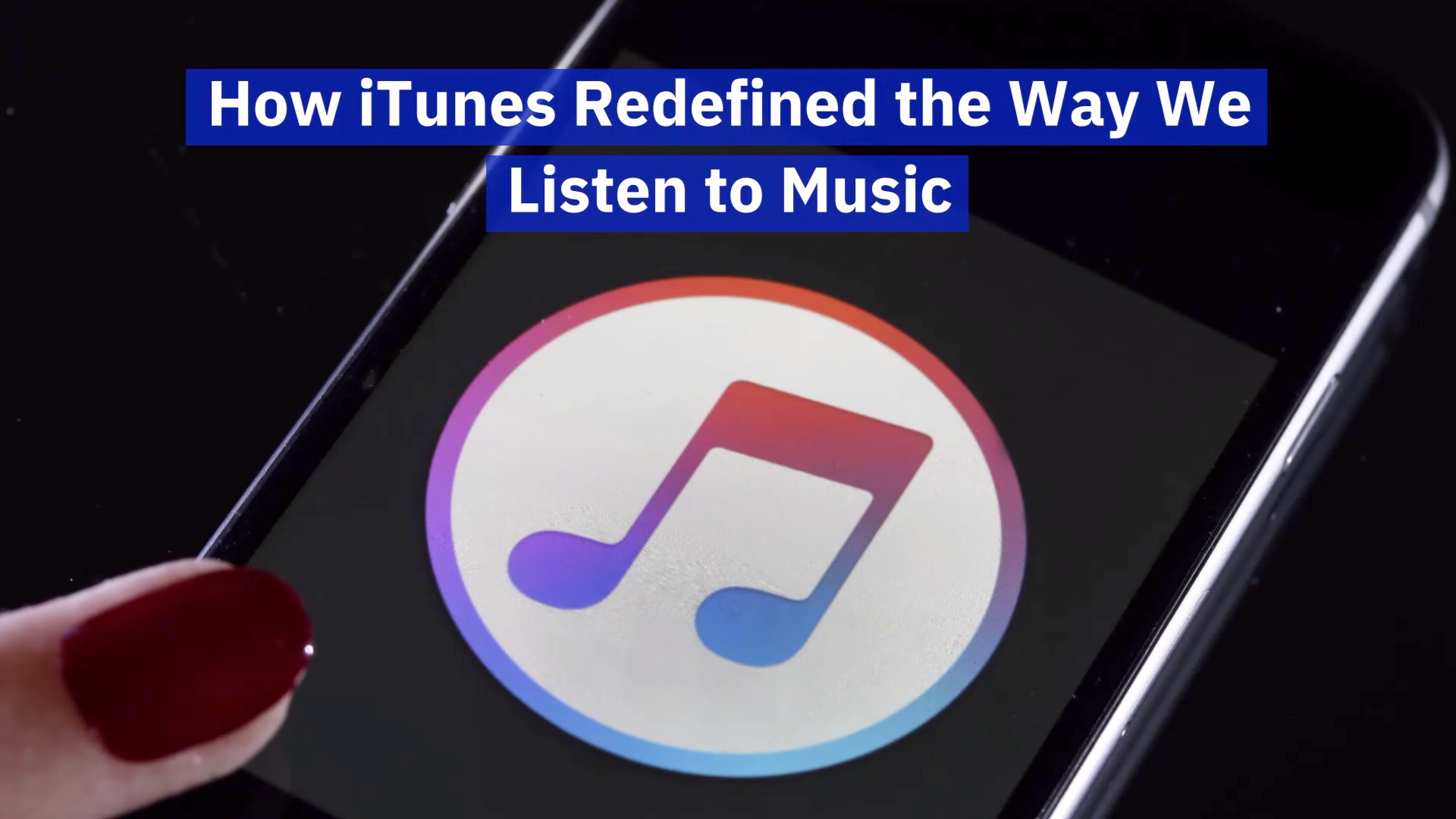 iTunes Leaves A Lasting Impression