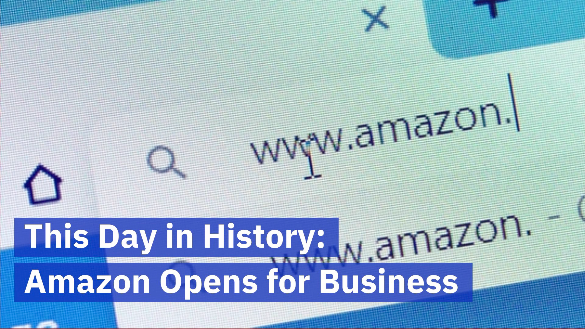 A Look Back At The Story Of Amazon