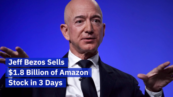 Jeff Bezos Sells Over A Billion Of His Amazon Stock