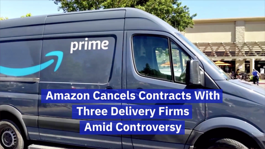 Amazon's Battle With Three Delivery Firms