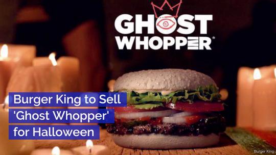 Burger King Gets In The Halloween Mood