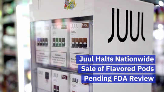 Juul Stops The Sale Of Flavored Pods For Now